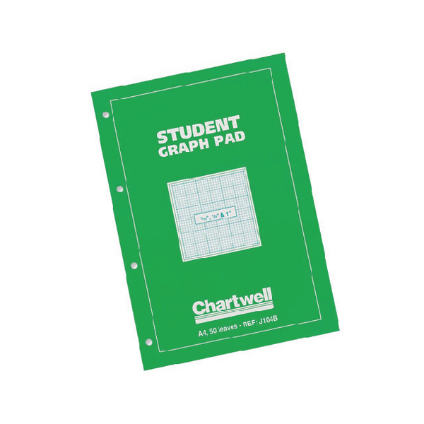 Image for Chartwell A4 Graph Pad Tenths J104B