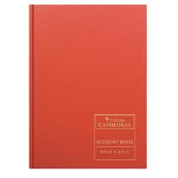 Collins Account Book Treble Cash 192 Pages D540/2/6.5C 833905/8