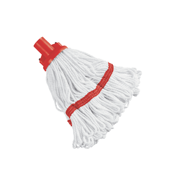 Red Hygiene Socket Mop Head 200g SM200RD