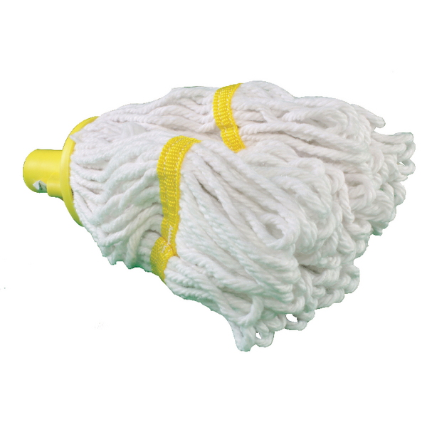 Yellow Hygiene Socket Mop Head 200g SM200YL