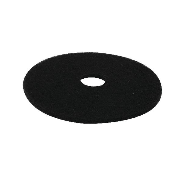 3M Floor Pads 17in 430Mm Black Pk5