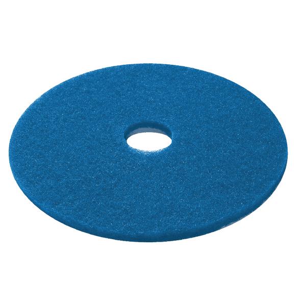 3M Blue 15 Inch 380mm Floor Pad (5 Pack) 2NDBU15