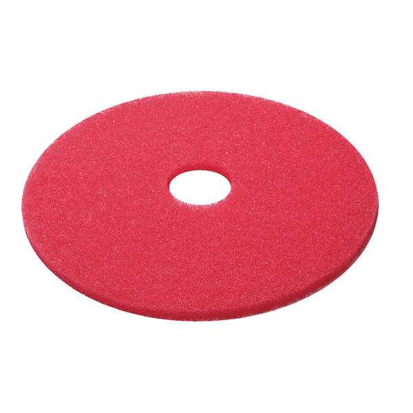 3M Red 15 Inch 380mm Floor Pad (Pack of 5) 2nd RD15