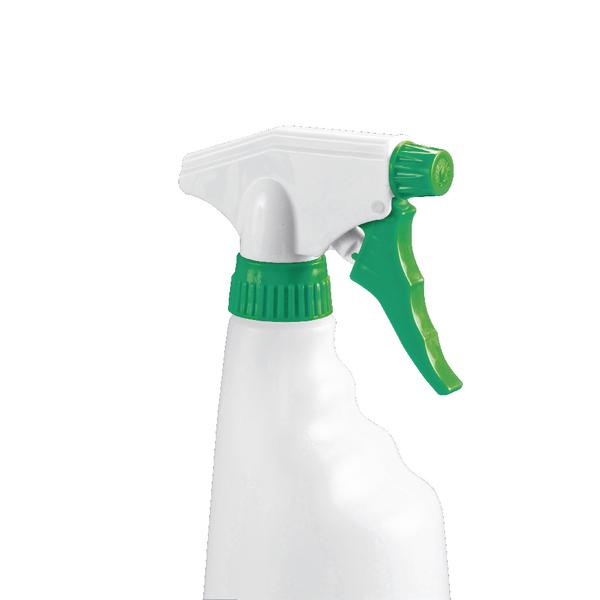 Image for 2Work Green Trigger Spray Refill Bottle Pack of 4 101958GN
