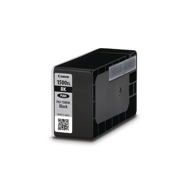 Canon PGI-1500XL Black High Yield Inkjet Cartridge 9182B001AA