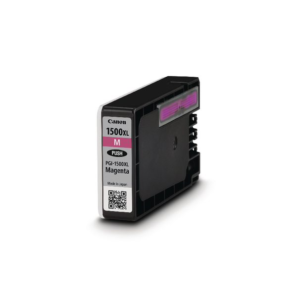 Canon PGI-1500XL High Yield Magenta Inkjet Cartridge 9194B001AA