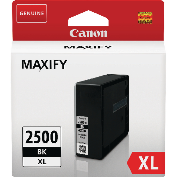 Canon PGI-2500XL Black High Yield Inkjet Cartridge 9254B001AA