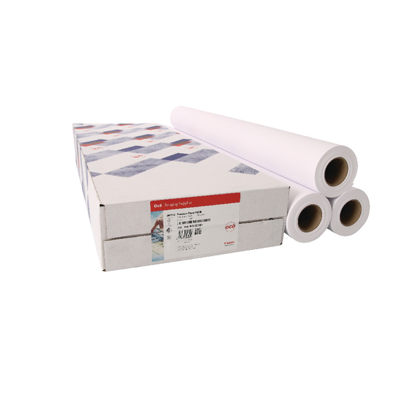 Canon Coated Premium Inkjet Paper (Pack of 3) Rolls 610mmx45m 97003451