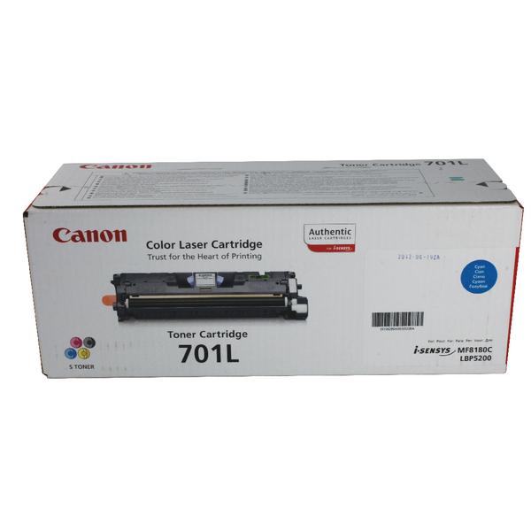 Canon 701L C Cyan Toner Cartridge Low Yield 9290A003