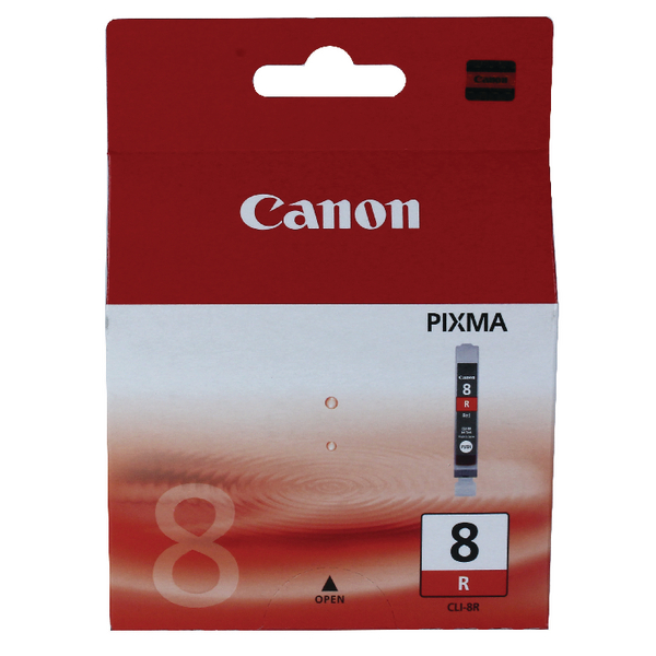 Canon CLI-8R Red Inkjet Cartridge 0626B001