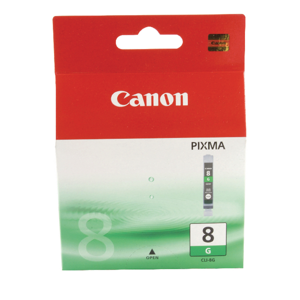 Canon CLI-8G Green Inkjet Cartridge 0627B001