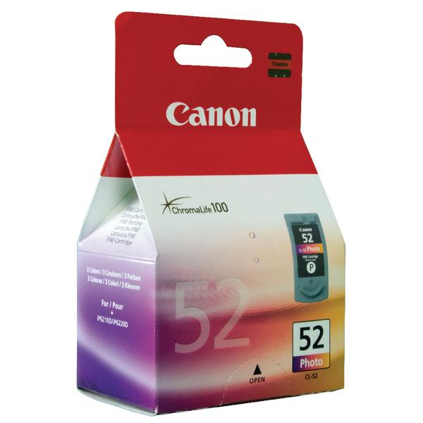 Canon CL-52 Colour Inkjet Cartridge 0619B001