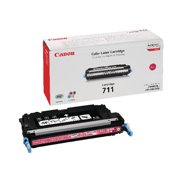 Canon 711 M Magenta Toner Cartridge 1658B002