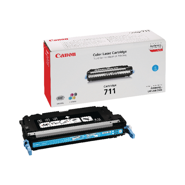 Canon 711 C Cyan Toner Cartridge 1659B002