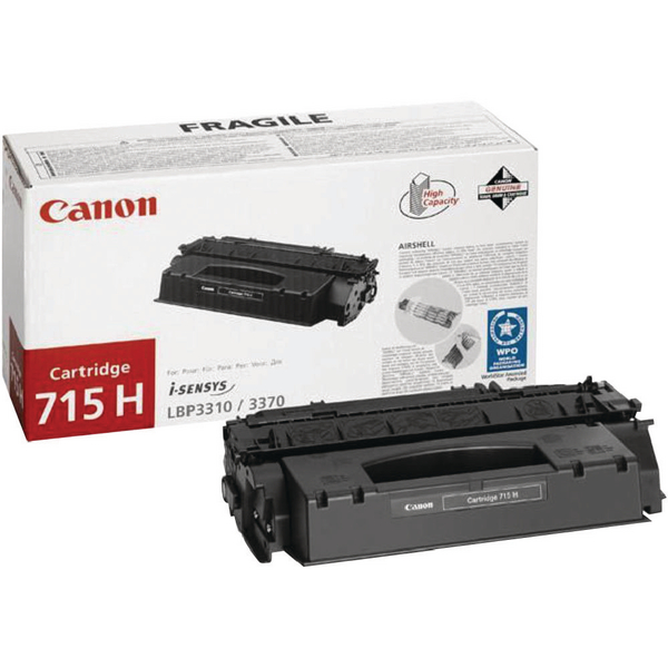 Canon 715 H Black High Yield Toner Cartridge 1976B002
