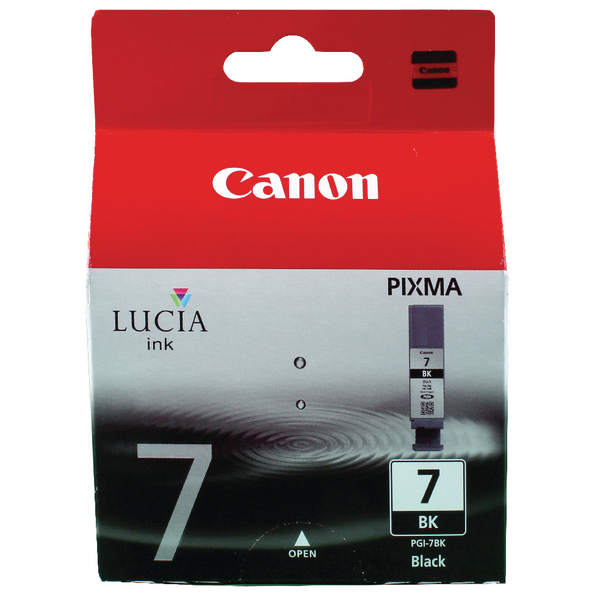 Canon PGI-7BK Black Inkjet Cartridge 2444B001