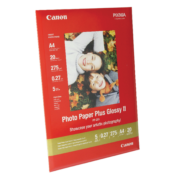 Image for Canon A4 Photo Paper Plus Glossy 260gsm (Pack of 20) 2311B019