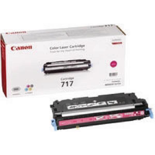 Canon 717M Magenta Toner Cartridge High Capacity 2576B002