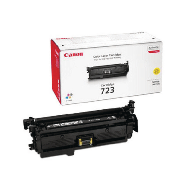 Canon 723Y Yellow Toner Cartridge 2641B002