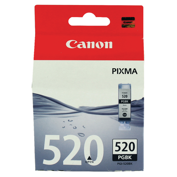 Canon PGI-520BK Black Inkjet Cartridge 2932B001