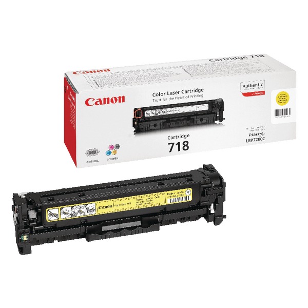 Canon 718Y Yellow Toner Cartridge 2659B002