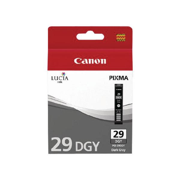 Canon Dark Grey 29 PIXMA PRO-1 Ink Tank PGI-29DGY 4870B001AA