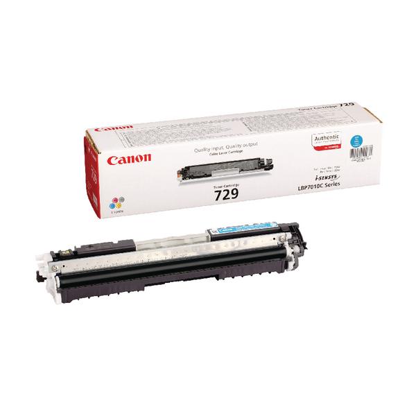 Canon LBP7010C Cyan Laser Toner Cartridge 729C 4369B002