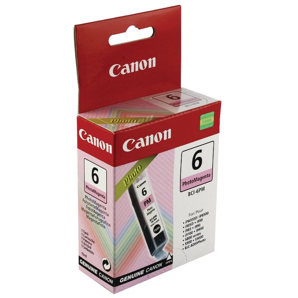 Canon BCI-6PM Magenta Inkjet Cartridge 4710A002