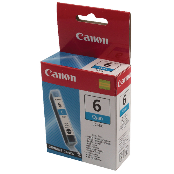 Canon BCI-6C Cyan Inkjet Cartridge 4706A002