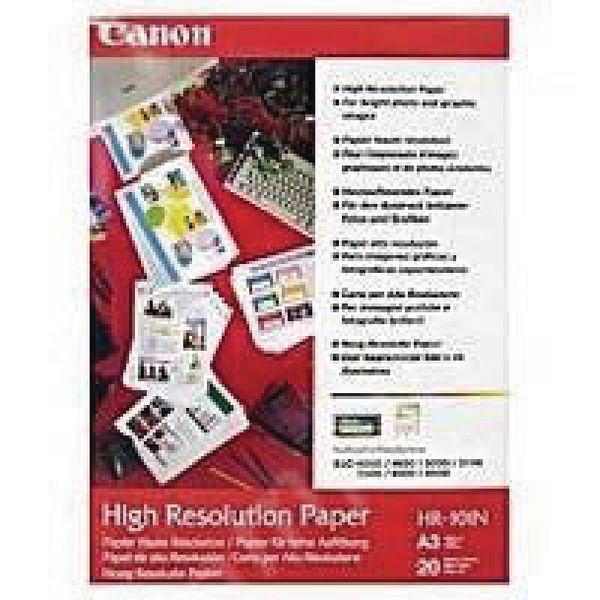 Canon High Resolution Inkjet Paper A3 Pack of 100 HR-101A3