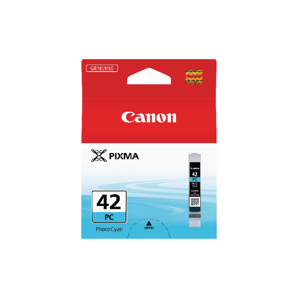 Canon CLI-42PC Photo Cyan Inkjet Cartridge 6388B001