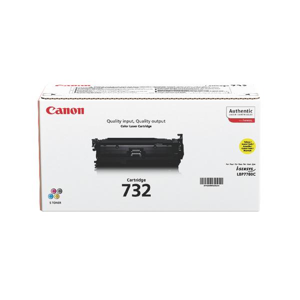 Canon 732Y Yellow Toner Cartridge 6260B002