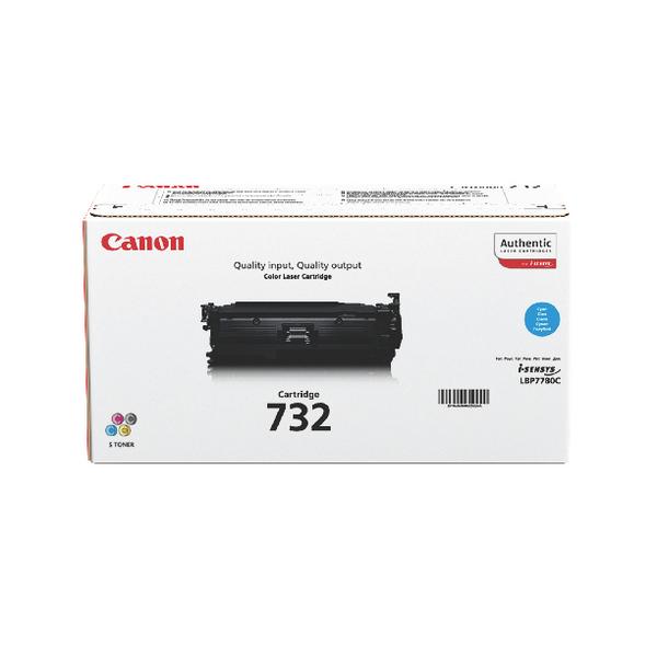 Canon 732C Cyan Toner Cartridge 6262B002