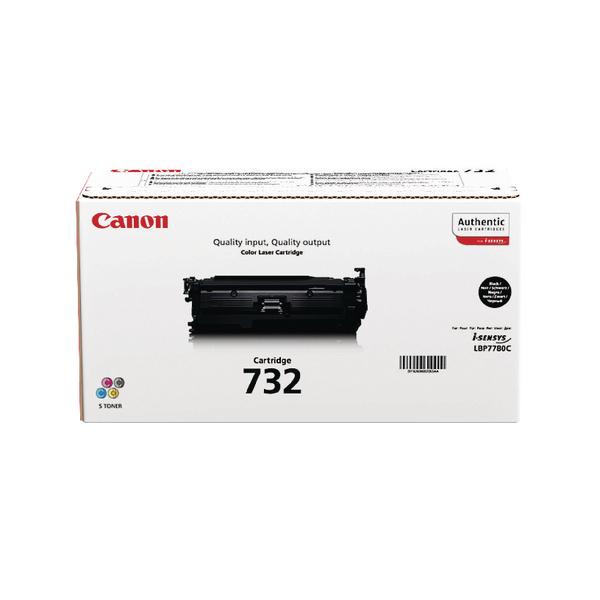 Canon 732BK Black Toner Cartridge 6263B002