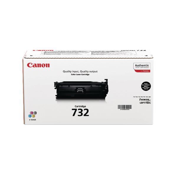 Canon 732H Black High Yield Toner Cartridge 6264B002