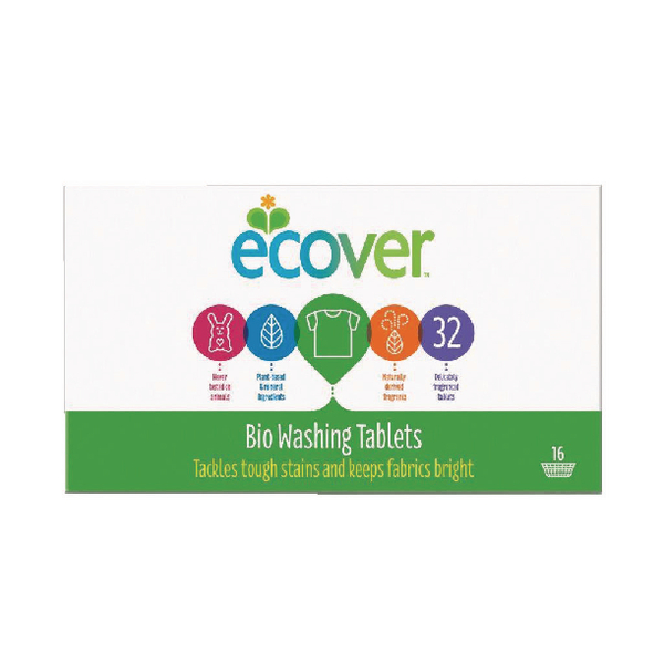 Image for Ecover Laundry Tablets (32 Pack) 1012132