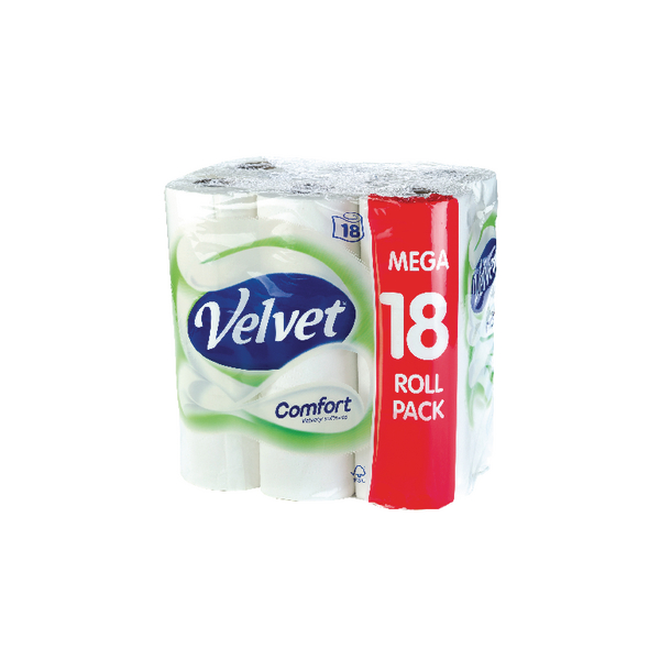 Triple Velvet Toilet Roll 3-Ply (18 Pack) KSCATV18