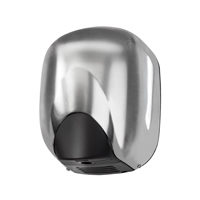 Green Planet Solutions EcoDry White Hand Dryer ABS 1100W (Pack of 1) VGPS569