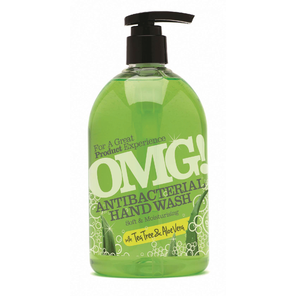 Image for OMG Antibac T/Tree/Aloe Hand Wash 500ml