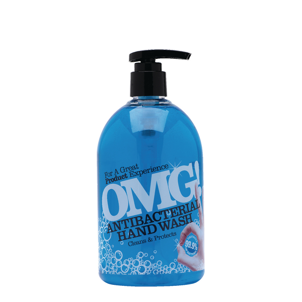 OMG Antibacterial Hand Wash 500ml 0604398