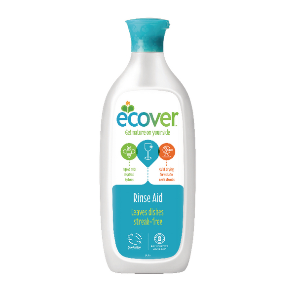 Ecover Dishwasher Rinse Aid (Pack of 1) 1002053