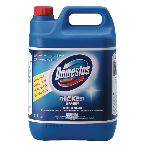 Image for Domestos Professional Bleach 5 Litre VDLDO5