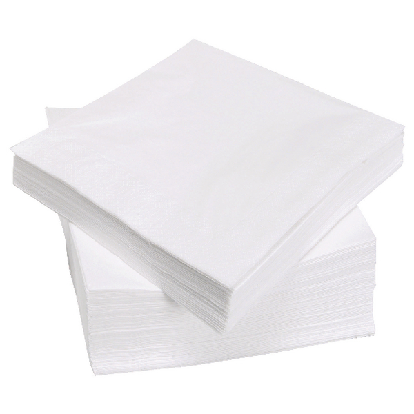 1-Ply Napkin 320X300Mm White Pk500