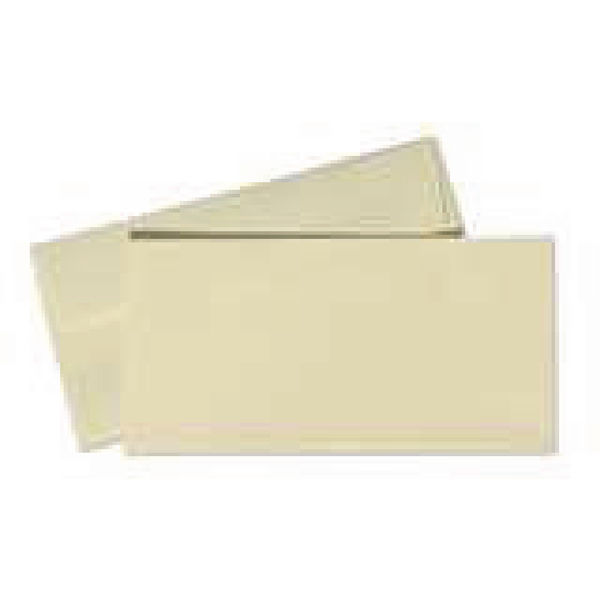 Conqueror Laid DL Wallet Envelope 110x220mm Cream (Pack of 500) CDE1003CR