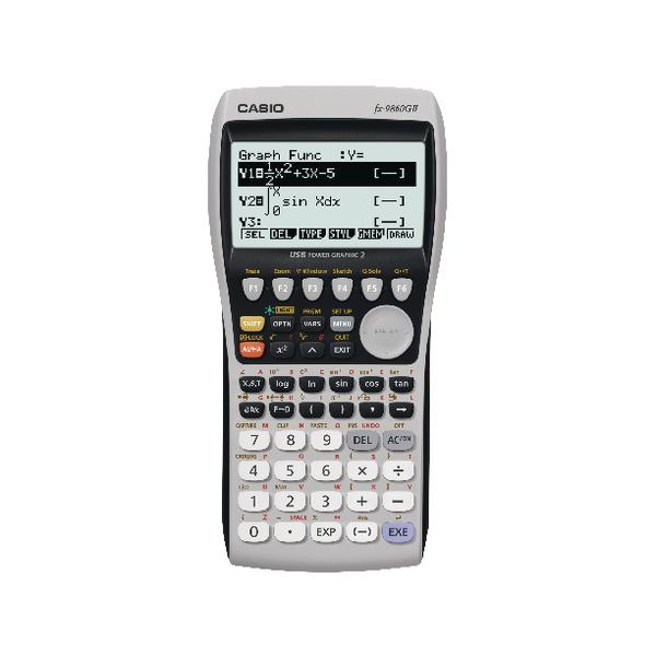 Casio FX-9860GII Graphic Calculator FX-9860GII-S-UH