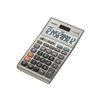 CS 12-digit Cost/Sell/Margin/Tax+Decimal Calc. Silver