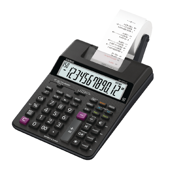 Casio HR-150RCE Printing Calculator HR-8RCE-WA-EC