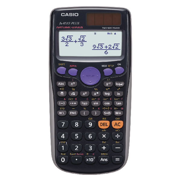 Casio Scientific Calculator FX-85GTPLUS-SB-UT