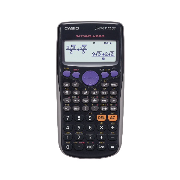 Casio Scientific Calculator FX83GTPLUS-SB-UH