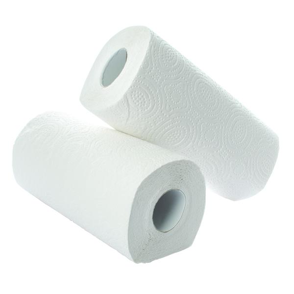 2Work Kitchen Roll White (24 Pack) KR0024